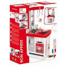 Інтерактивна кухня Smoby Bon Appetit Red зі звуковими ефектами 310800, 310819