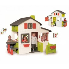 Будинок для друзів з горищем та дверним дзвінком, 217х171х172 см, 3+ Арт. №. 310209 Smoby