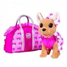 Собачка Chi Chi Love Чихуахуа Трояндова мода с сумочкой 5893346