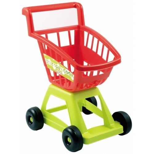 Тачка  візок кошик для супермаркету з продуктами харчування, 18міс. + 0012226