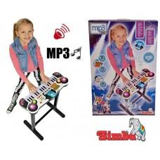 Музичний інструмент Синтезатор Клавішна Парта дитяче піаніно Simba 6832609