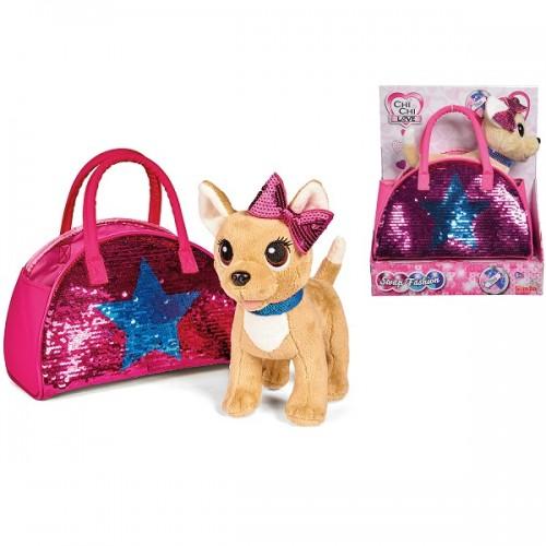Собачка Chi Chi Love Чихуахуа Зірка з паєтками сумочкою 5893351