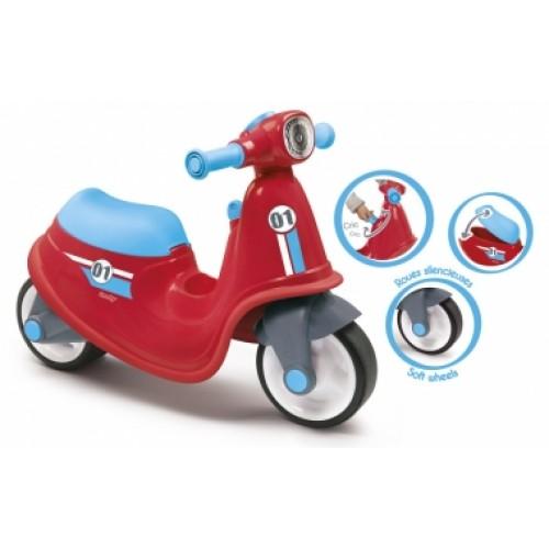 Скутер, червоний, 18 міс.+    721003
