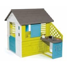 """Будиночок """"Райдужний"""" з літньою кухнею, розмір 145 х 110 х 127 см, 2+ 810711"""