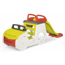 """Ігровий центр Smoby """"Автомобіль мандрівника"""", з гіркою та пісочницею, зі звук. ефектом, 233 х 68 х 91 см, 2+ Арт. №. 840205"""