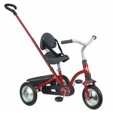 Дитячий металевий велосипед з Зукі багажником, червоний, 16 міс.+    740800