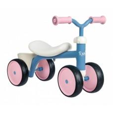 721401 Дитячий металевий біговел чотирьох колісний, рожевий, 12 міс. +
