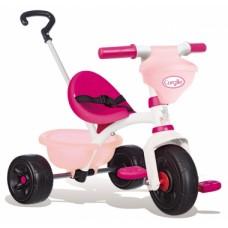 """Дитячий металевий велосипед """"Королле Бі Фан"""" з багажником та сумкою, рожевий, 15 міс.+  740329"""