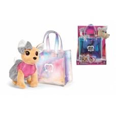 Собачка Simba Toys Chi Chi Love Чихуахуа Fashion Shimmer з голографічною сумочкою (5893432)