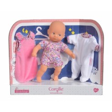"""Міні пупс для сну Corolle """"На добраніч"""" зі спальником та піжамою, з ароматом ванілі, висота 20 см, 18 міс.+ Арт. №. 9000120150"""