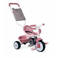 """Дитячий металевий велосипед 3 в 1 """"Бі Муві. Комфорт"""", рожевий, 68 х 52 х 101 см, 10 міс.+    740415"""