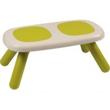 Лавочка без спинки дитяча Smoby Toys Зелена (880301)