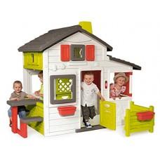 Будинок для друзів з горищем та дверним дзвінком, 217х171х172 см, 3+ Арт. №. 310209