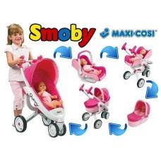 550389 Коляска Maxi-Cosi 4в1, триколісна, 3+ smoby