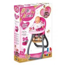 Стільчик Smoby Toys Baby Nurse Прованс для годування з аксесуарами 220310