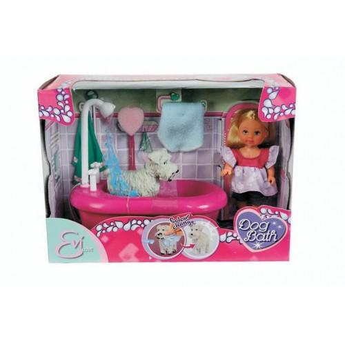 Лялька Evi з набором для купання песика Simba 5733094