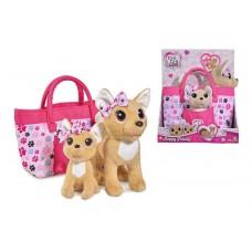 Chi Chi Love Собачки Чихуахуа Щаслива сім'я з сумочкою 5893213