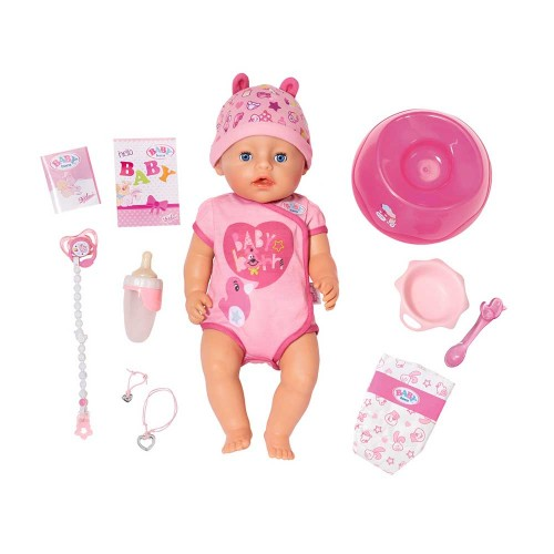 БЕЗКОШТОВНА ДОСТАВКА Пупс Baby Born Лялька Ніжні обійми Чарівне малятко 824368