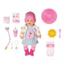 БЕЗКОШТОВНА ДОСТАВКА Лялька Zapf Baby Born Чарівне малятко 43 см Ніжні обійми СТИЛЬНИЙ ЛУК Zapf 826690 / поліпшена