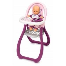 Стільчик Smoby Toys Baby Nurse Прованс для годування з аксесуарами 220342