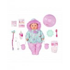 БЕЗКОШТОВНА ДОСТАВКА Лялька Zapf Baby Born Ніжні обійми Зимова красуня 827529