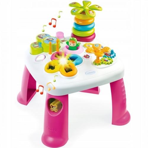 Розвиваючий ігровий столик Квіточка Cotoons Smoby Франція 211170, 211169