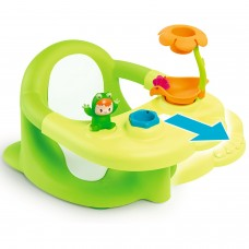 Стільчик для купання Smoby Cotoons Жабка з ігровою панеллю Зелений (110615)