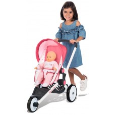 Smoby Прогулянкова триколісна коляска для ляльки / пупсів/  255098 Maxi Cosi