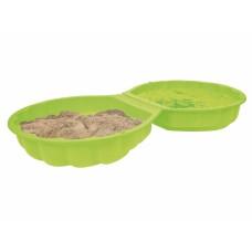 Пісочниця-басейн, салатова 88х88х21 см, 18+ 007723
