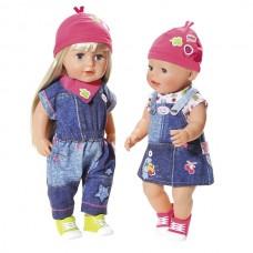 Одяг для ляльки Baby Born Джинсовий стиль Zapf 824498