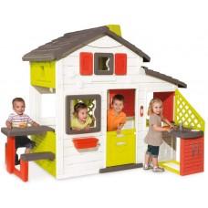 Будинок для друзів з горищем та літньою кухнею, 217х155х172 см, 3+ Арт. №. 810200