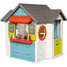"""Будинок """"Шеф Хауз"""" з кухнею, касою, наб., посуду та аксес., 124,5х132х135,7см, 2+ Арт. №. 810403"""