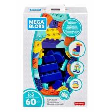 Конструктор Mega Bloks Мега Блокс 60 деталей FLY43