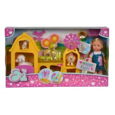 Ляльковий набір Simba Еві Щаслива ферма з аксесуарами 5733075