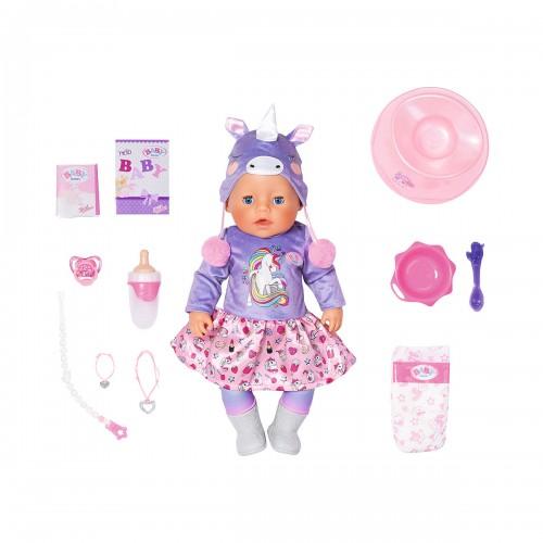 Лялька Zapf Baby Born Ніжні обійми Милий Єдиноріг 828847 Бебі Борн БЕЗКОШТОВНА ДОСТАВКА