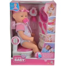 Ляльковий набір Пупс NBB і вбиральня з аксесуарами Simba (5032483)