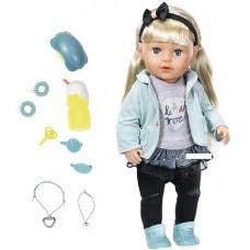 БЕЗКОШТОВНА ДОСТАВКА Кукла Zapf Baby Born Сестренка Модница 824245