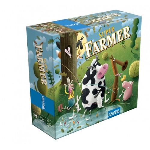 Настільна гра Супер Фермер, дорожній варіант, Granna 81862