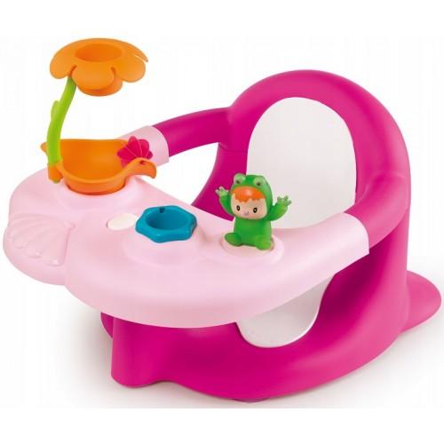 Стільчик для купання Smoby Cotoons Жабка з іграшками 110616