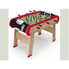 """Дерев'яний напівпрофесійний футбольний стіл """"Чемпіон"""", 120х90х84 см, 8+ Арт. №. 620400 Smoby"""