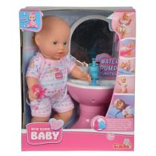 Ляльковий набір Simba Пупс NBB Ванна кімната 30 см Simba (5036467)
