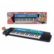 Електросинтезатор з мікрофоном 63х18 Simba