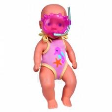 Пупс New Born Baby бебі Борн 30 см в купальнику з маскою Simba 5030172