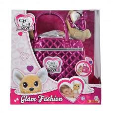 Собачка Chi Chi Love Фешн Модний гламур з сумочкою Simba 5893125