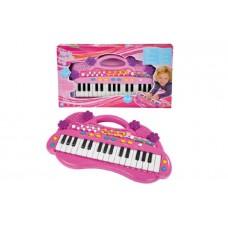 Електросинтезатор Дівочий стиль піаніно для дівчаток Simba 6830692