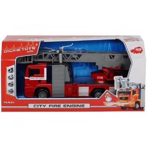 Пожежна машинка Dickie Місто зі світловими і звуковими еф 31 см 3715001