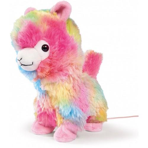 """М'яка іграшка CCL """"Лама"""" на ДК, що ходить та танцює, 20 см, 5+ Арт. №. 5893022"""