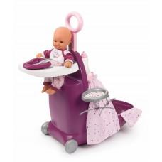 Набір Smoby Baby Nurse Прованс розкладний чемодан 3 в 1 220346