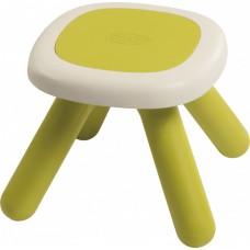 Стільчик без спинки дитячий Smoby Toys Зелений (880205)