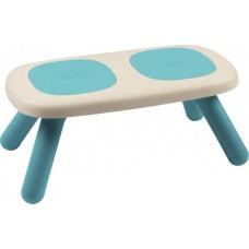 Лавочка без спинки дитяча Smoby Toys Блакитна (880302)